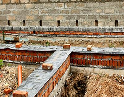 Фундамент под дом из арболита