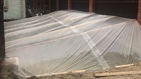 Можно ли заливать фундамент для дома зимой