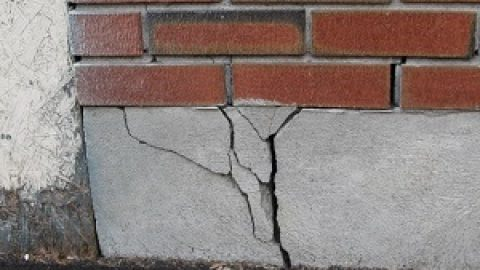 Трещины в фундаменте дома профилактика и устранение