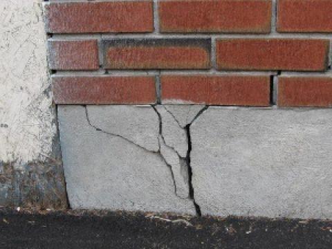 Что делать если фундамент лопнул